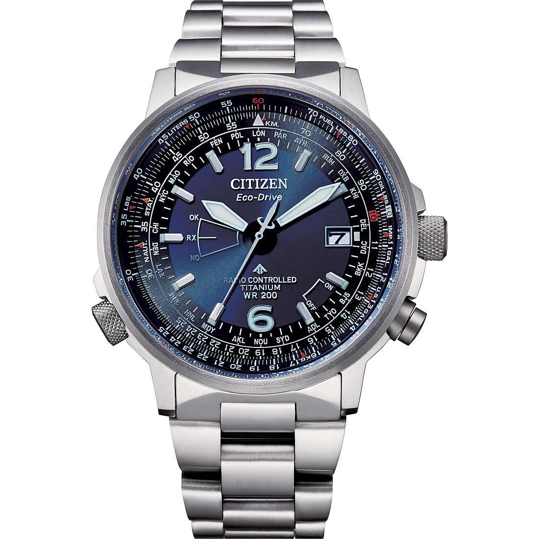 Orologio multifunzione uomo citizen pilot cb0230 81l