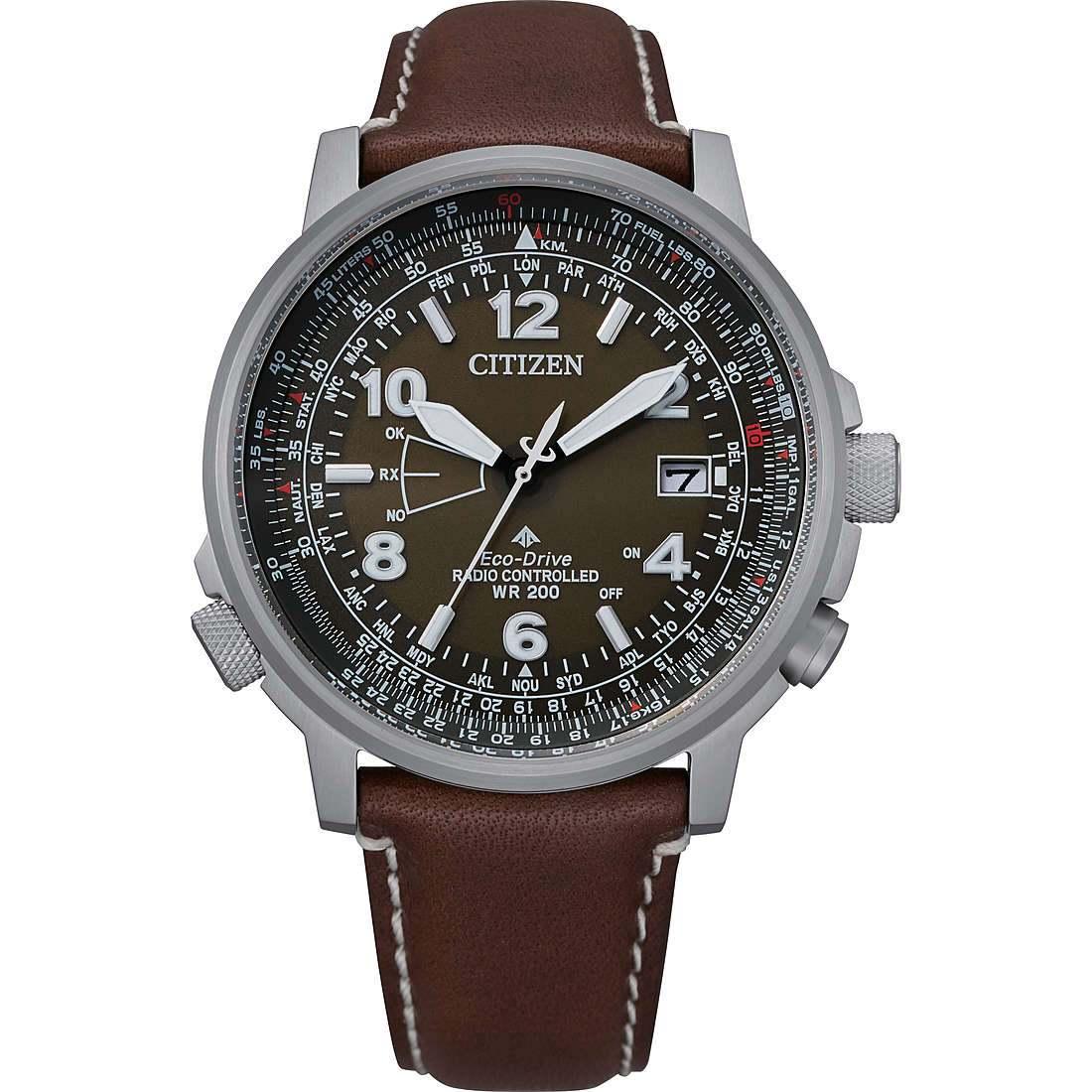 Orologio multifunzione uomo citizen pilot cb0240 29x