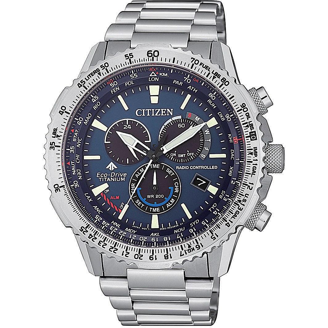 Orologio multifunzione uomo citizen pilot cb5010 81l