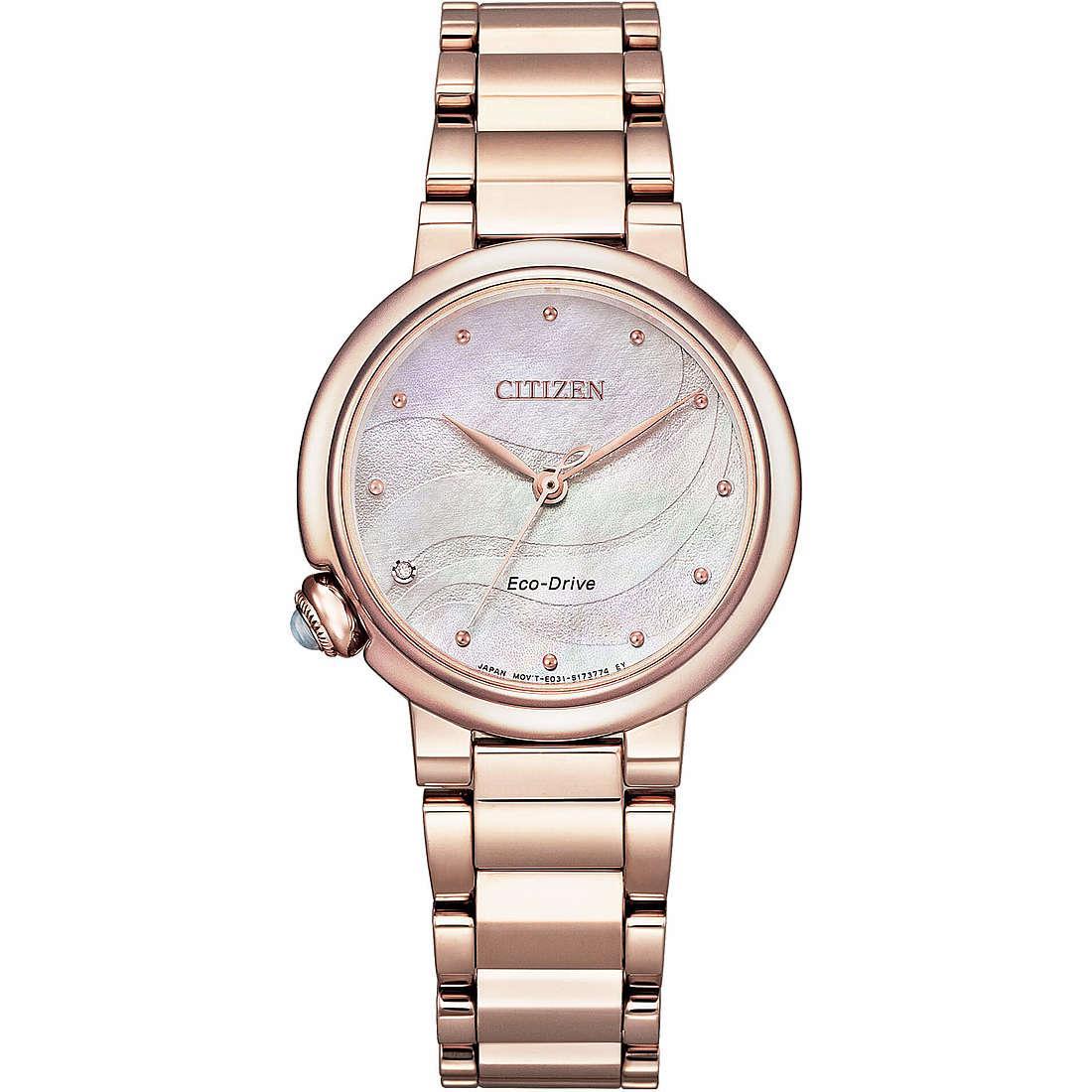Orologio solo tempo donna citizen em0912 84y