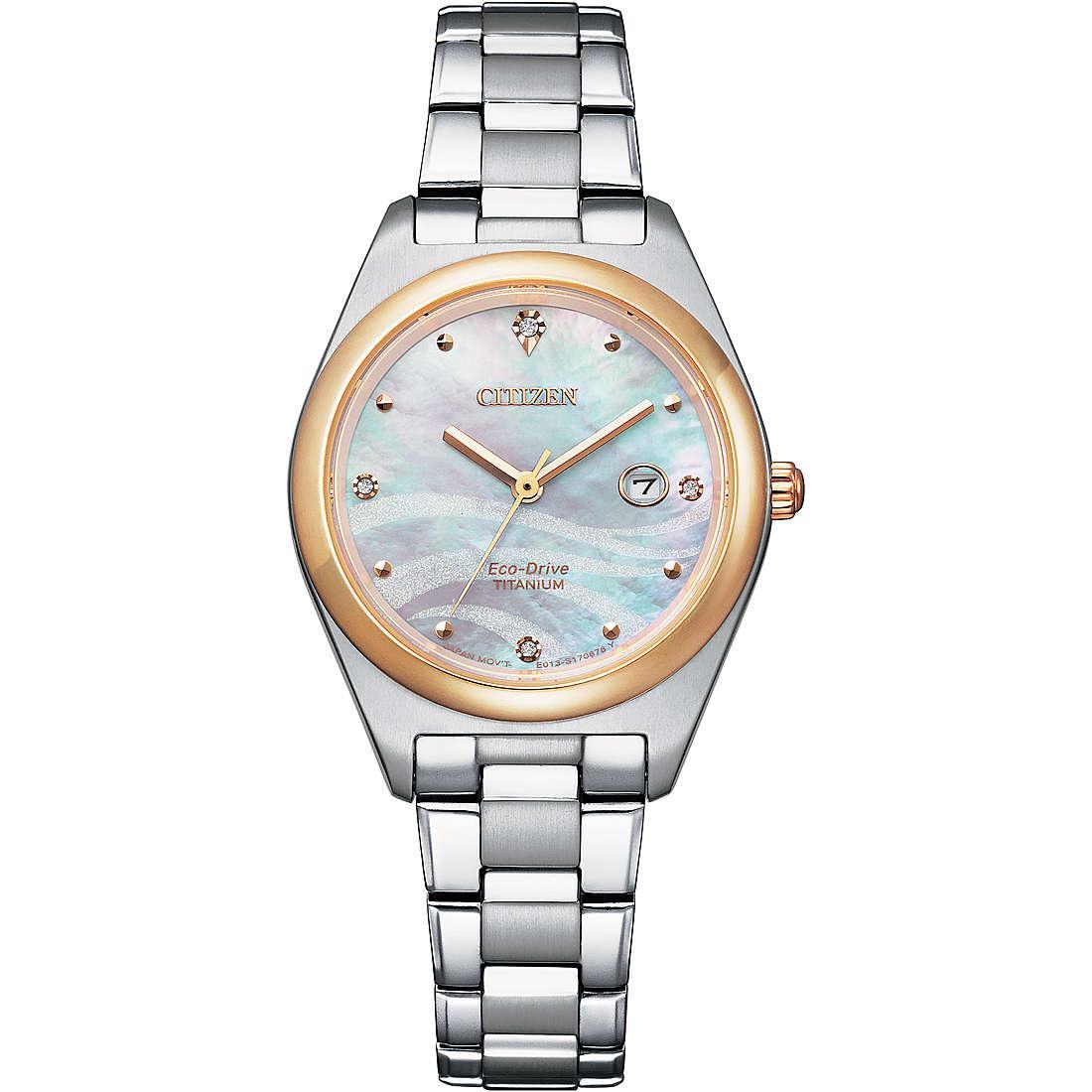 Orologio solo tempo donna citizen lady ew2606 87y