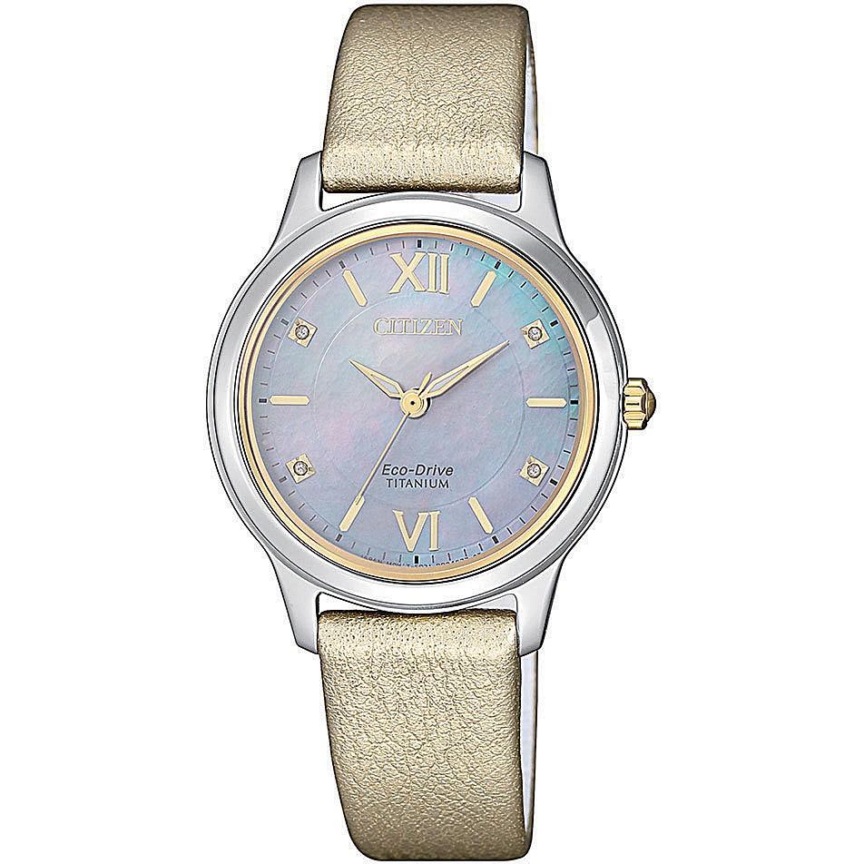 Orologio solo tempo donna citizen lady titanio em0724 17y