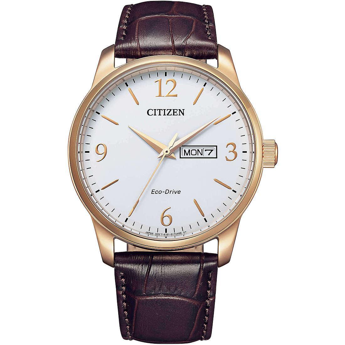 Orologio solo tempo uomo citizen classic bm8553 16a