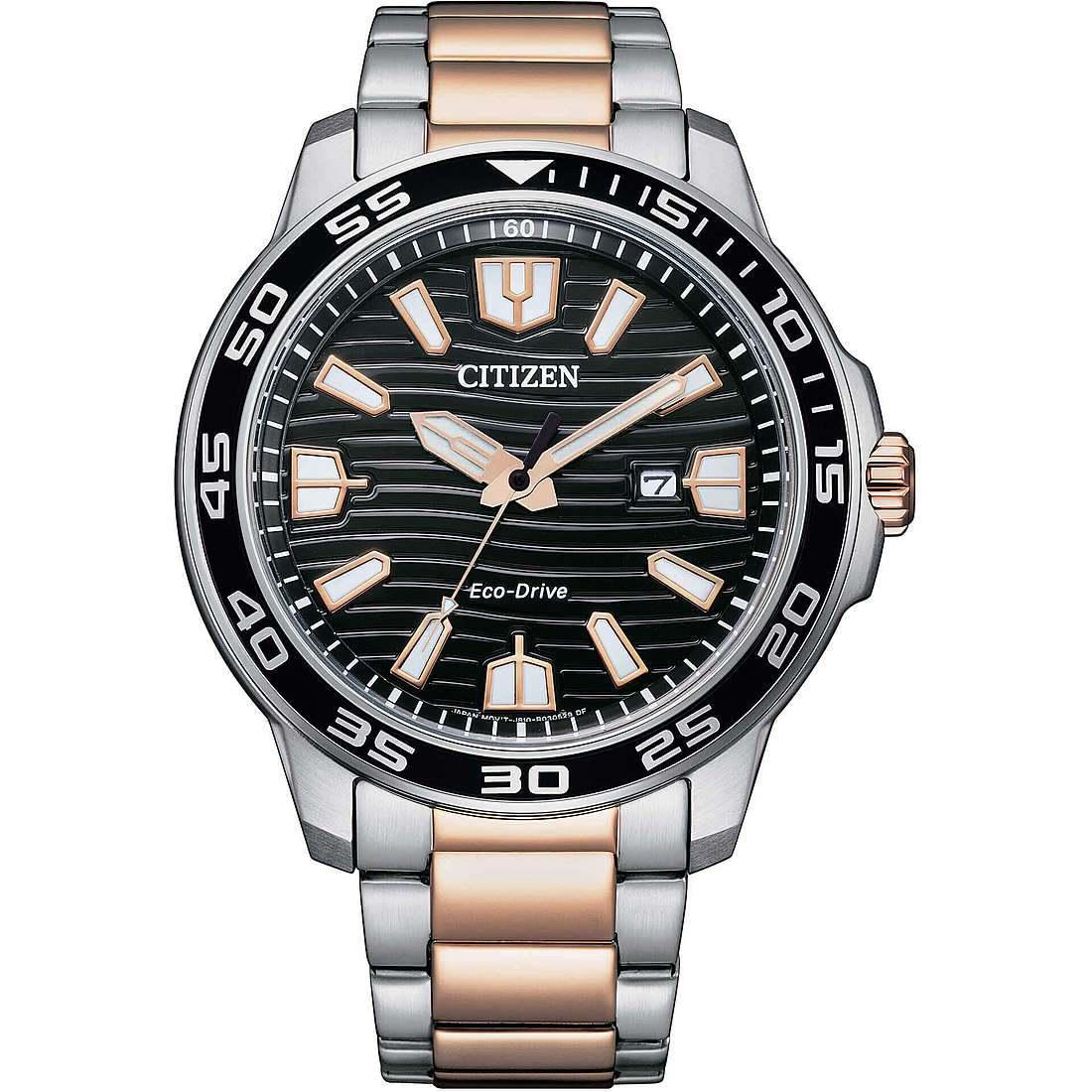 Orologio solo tempo uomo citizen marine aw1524 84e