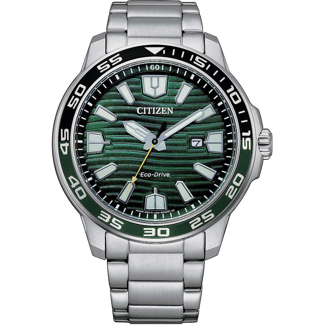 Orologio solo tempo uomo citizen marine aw1526 89x