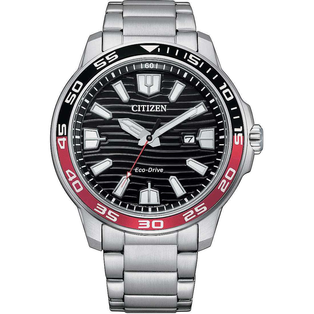 Orologio solo tempo uomo citizen marine aw1527 86e
