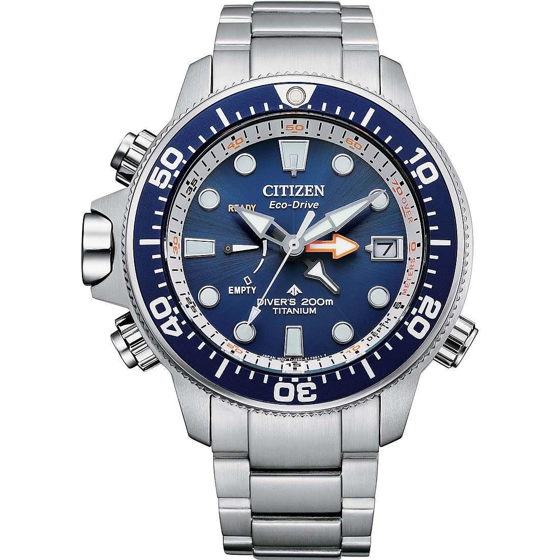 Orologio solo tempo uomo citizen promaster bn2041 81l