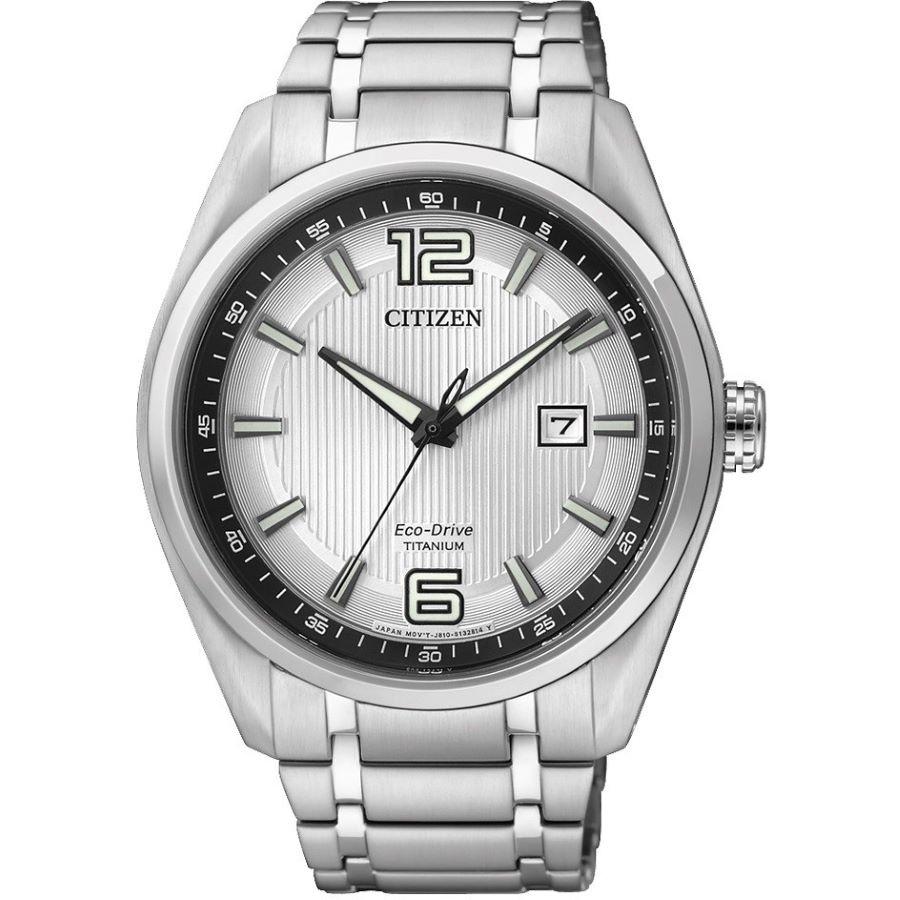 Orologio solo tempo uomo citizen super titanio aw1240 57b 190461