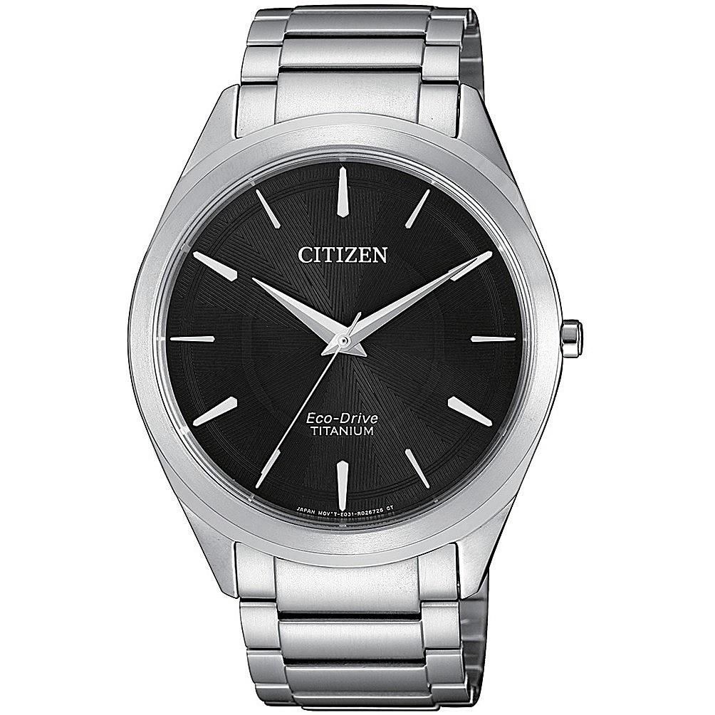 Orologio solo tempo uomo citizen supertitanio slim bj6520 82e