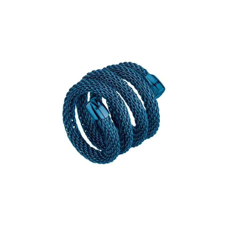 Prd TJ2787 anello snake blu