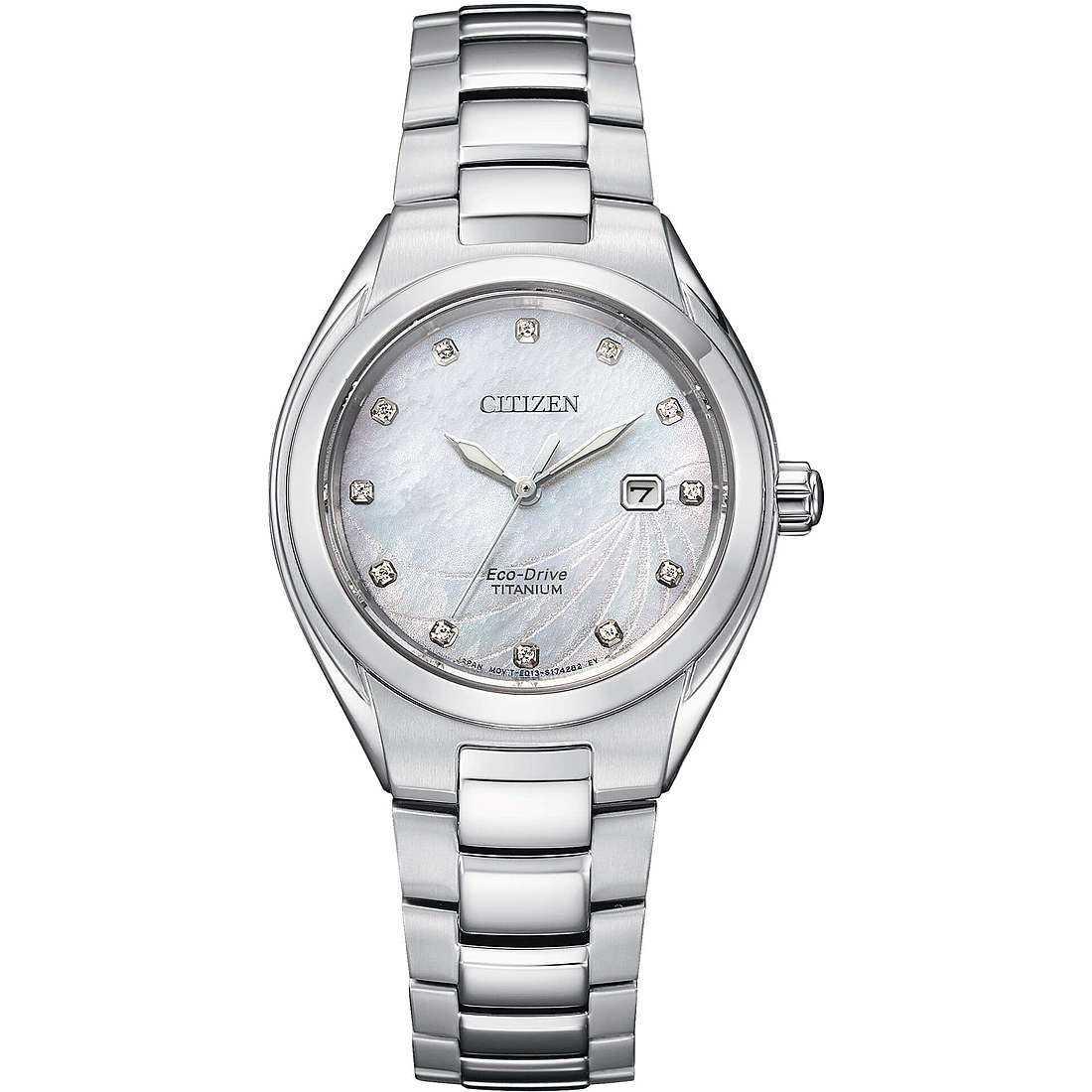 Watch only time woman citizen supertitanio ew2611 87d